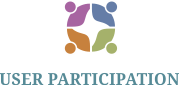 user participation logo